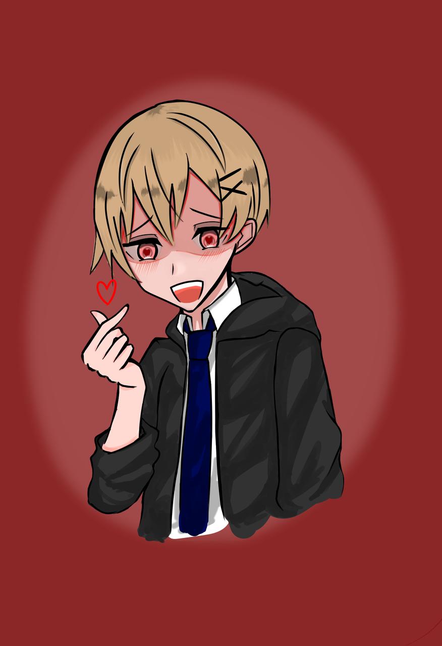 ♡ Illust of わかな kawaii メンヘラ boy