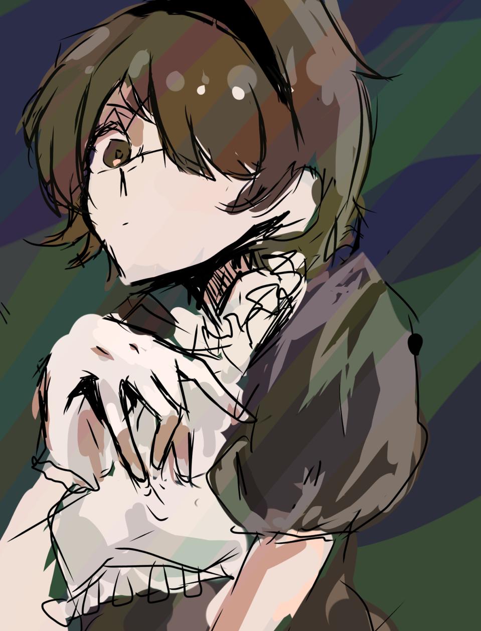 レイヤー三個の落描き Illust of 𝕗𝕦𝕪𝕠𝕦🌸 maid メイド服