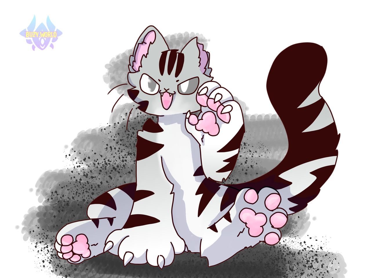 还是猫猫 Illust of Buzy medibangpaint furry
