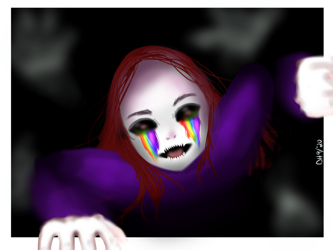 for Emo_weeb888 Illust of DanDraw medibangpaint Creepypasta oc