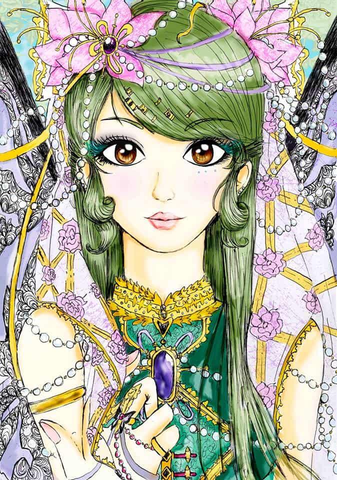 Manga Green Girl