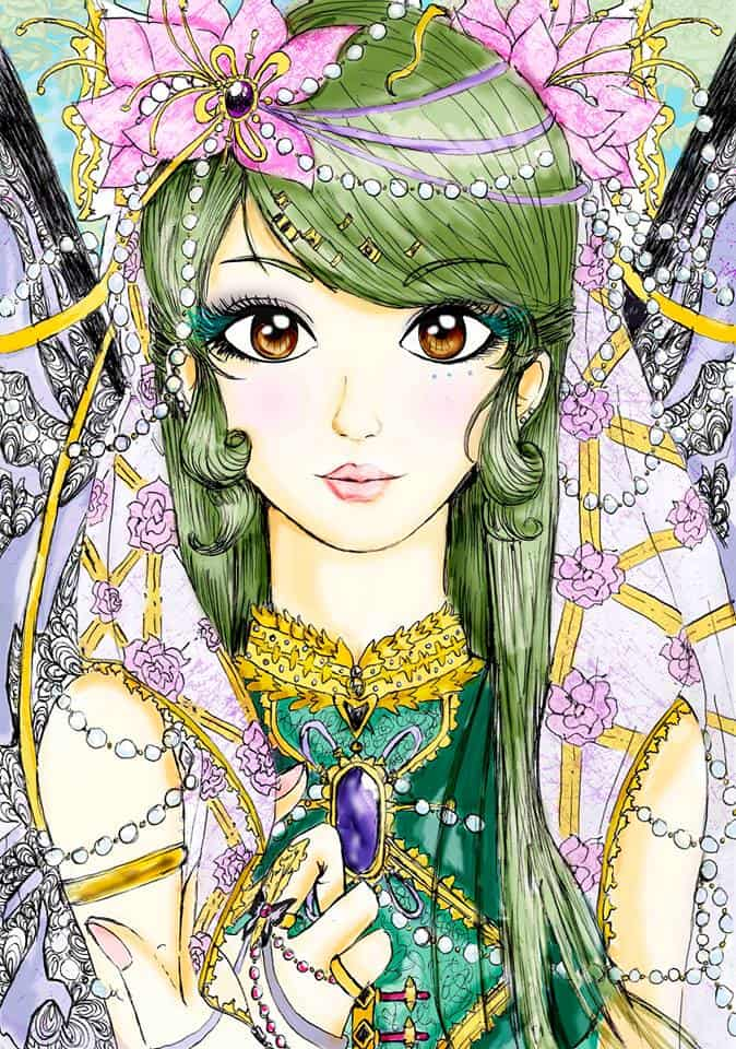 Manga Green Girl