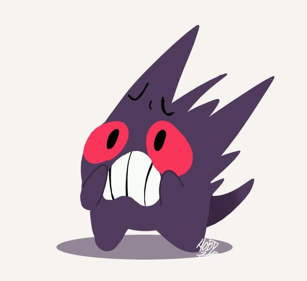 Scared Gengar