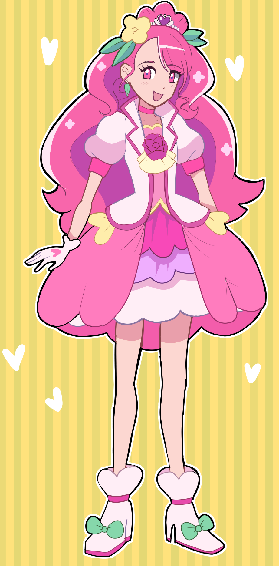 Cure Grace  Illust of gummyshark mahoushoujo anime キュアグレース Precure magicalgirl Curegrace ヒーリングっどプリキュア