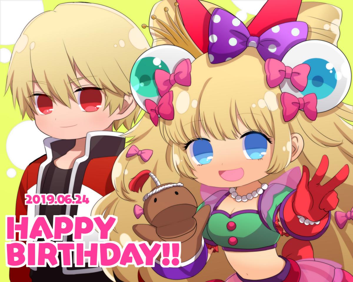KOF6/24誕生日組 Illust of ろくみつき KOF birthday