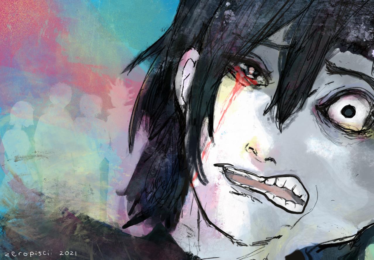 Yoshino Junpei: Lost Dreams Illust of zeropiscii JujutsuKaisenFanartContest JujutsuKaisen sad yoshino tragic junpei 吉野順平