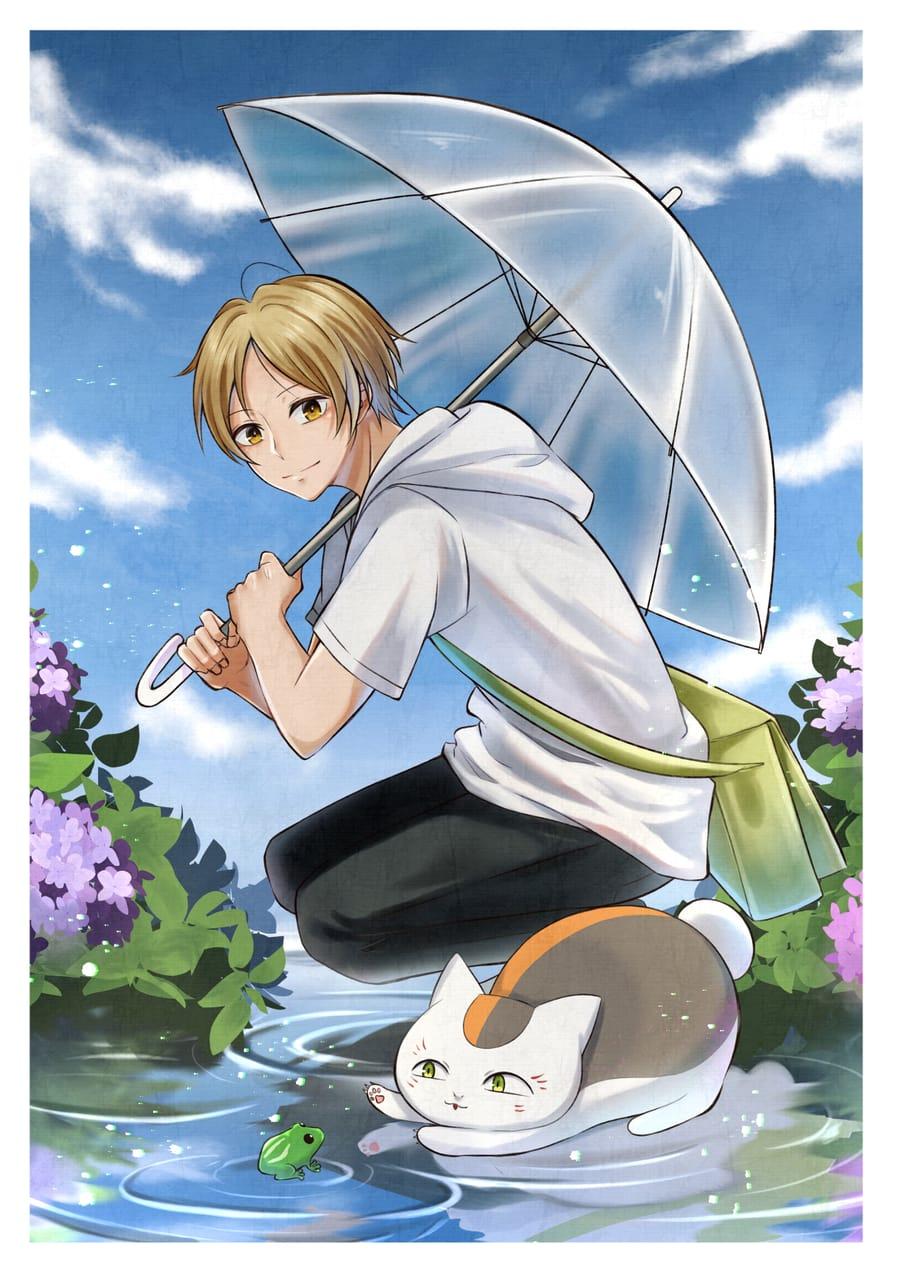 夏目☂ Illust of かみわら Natsume'sBookofFriends