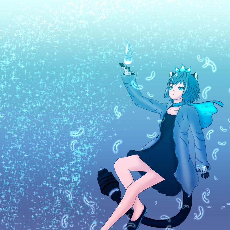 HUION設計競賽 Illust of Cookie堯 HuionDesign Leon girl 三創繪王 奇幻 繪王數位板包裝設計競賽