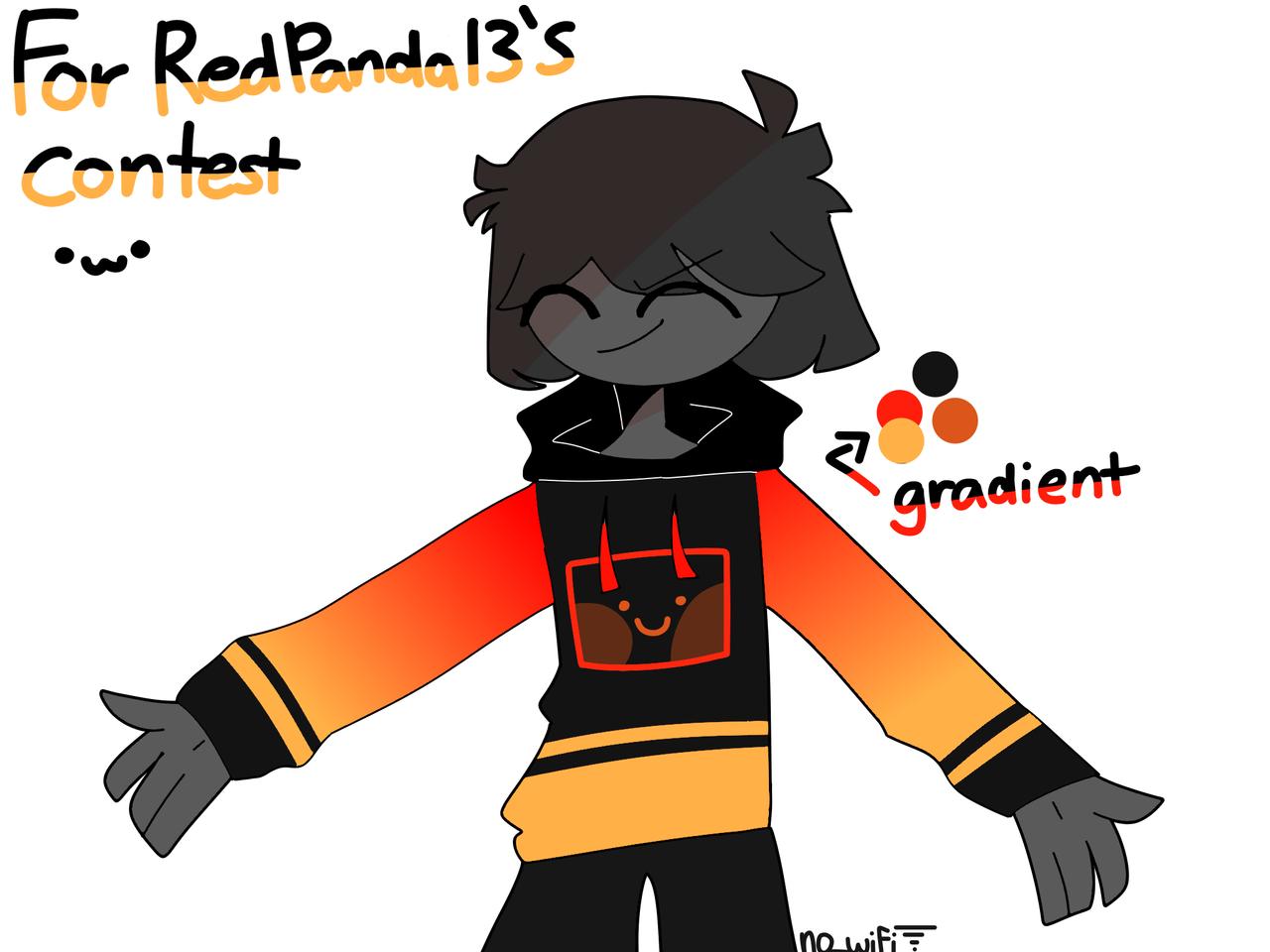 owo contest entry  Illust of RiiRen medibangpaint orange hoodie entry contest yellow wtjgcedbhnj gradient red