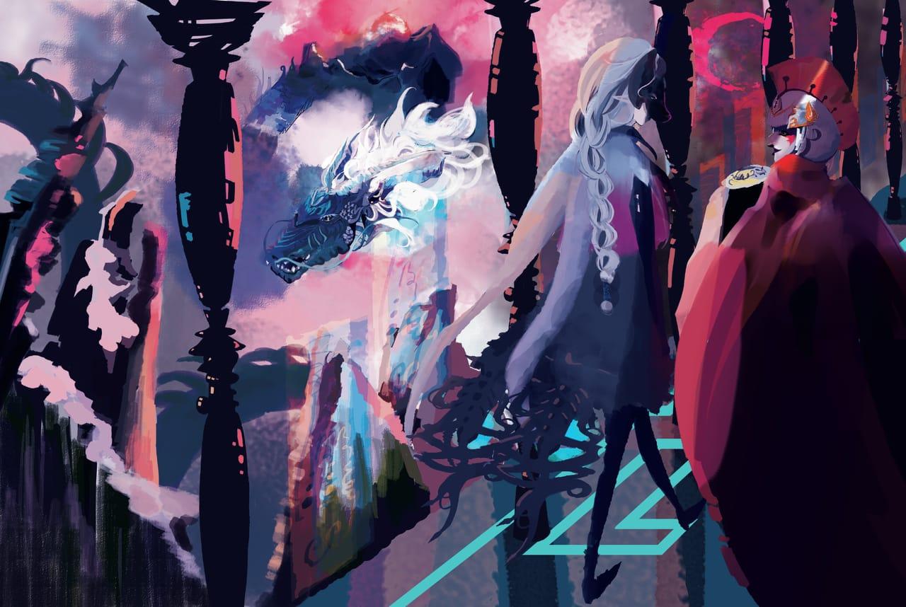 神話時期 Illust of 撲鹿路(PURURU) fantasy February2021_Fantasy ART_street_Illustration_Book_Contest dragon RPG game