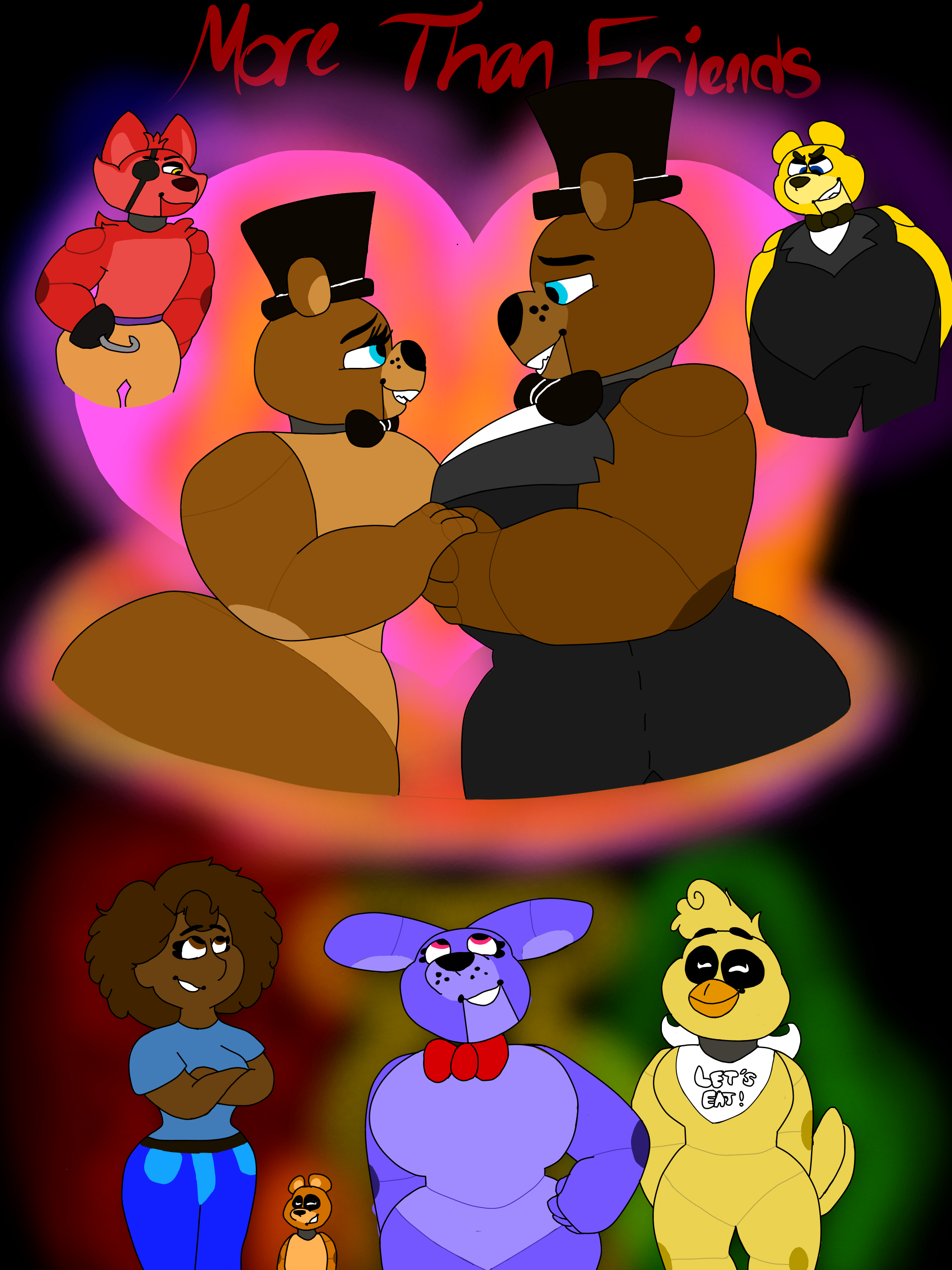 Fnaf Comics En Español a fnaf comic: more than friends fazproductions