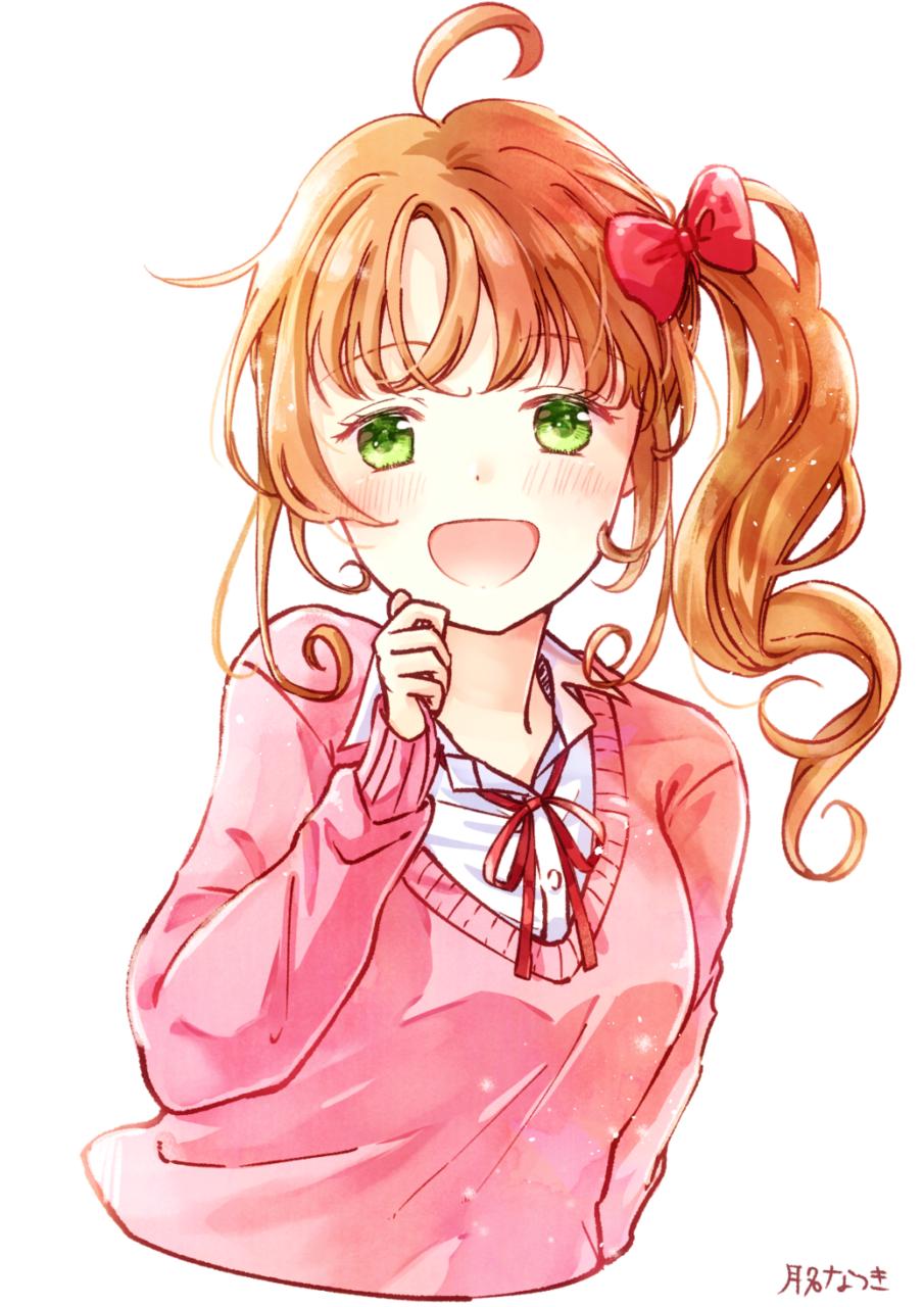 女の子 Illust of 月名なつき original 高校生 メイキング動画 girl