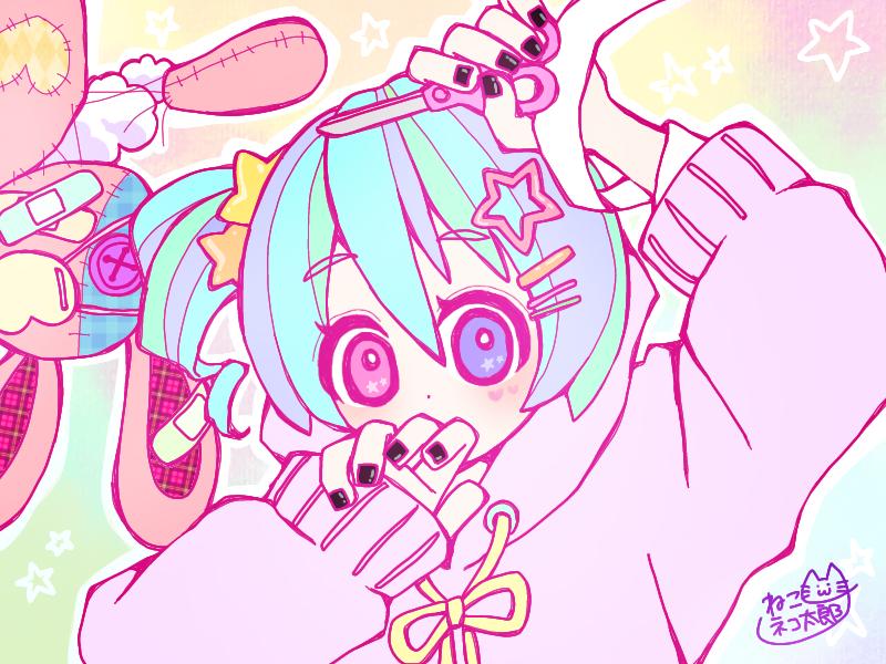 女の子 Illust of ねこネコ太郎ฅ^._.^ฅ ARTstreet_Ranking Original_Illustration_Contest April.2020Contest:Color original girl oc オッドアイ ゆめかわいい