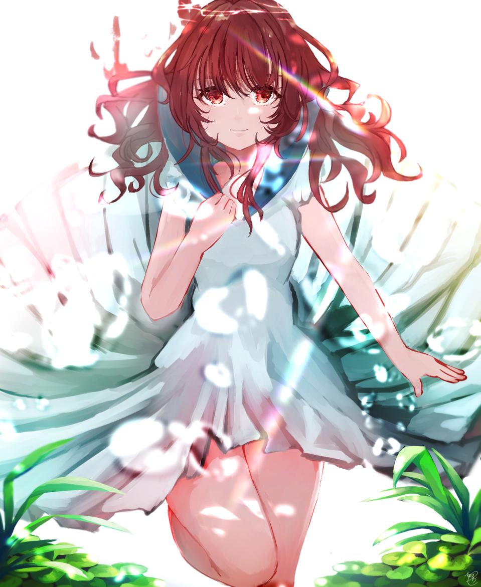 真珠姫 Illust of ちびろぅё!!あっとまきゅん background 泡 sea girl 海底
