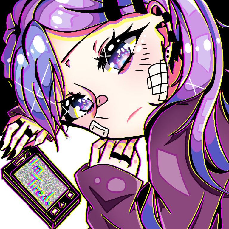 I'm tired...(trying to color-) Illust of UNDERDOGS. medibangpaint girl random anime