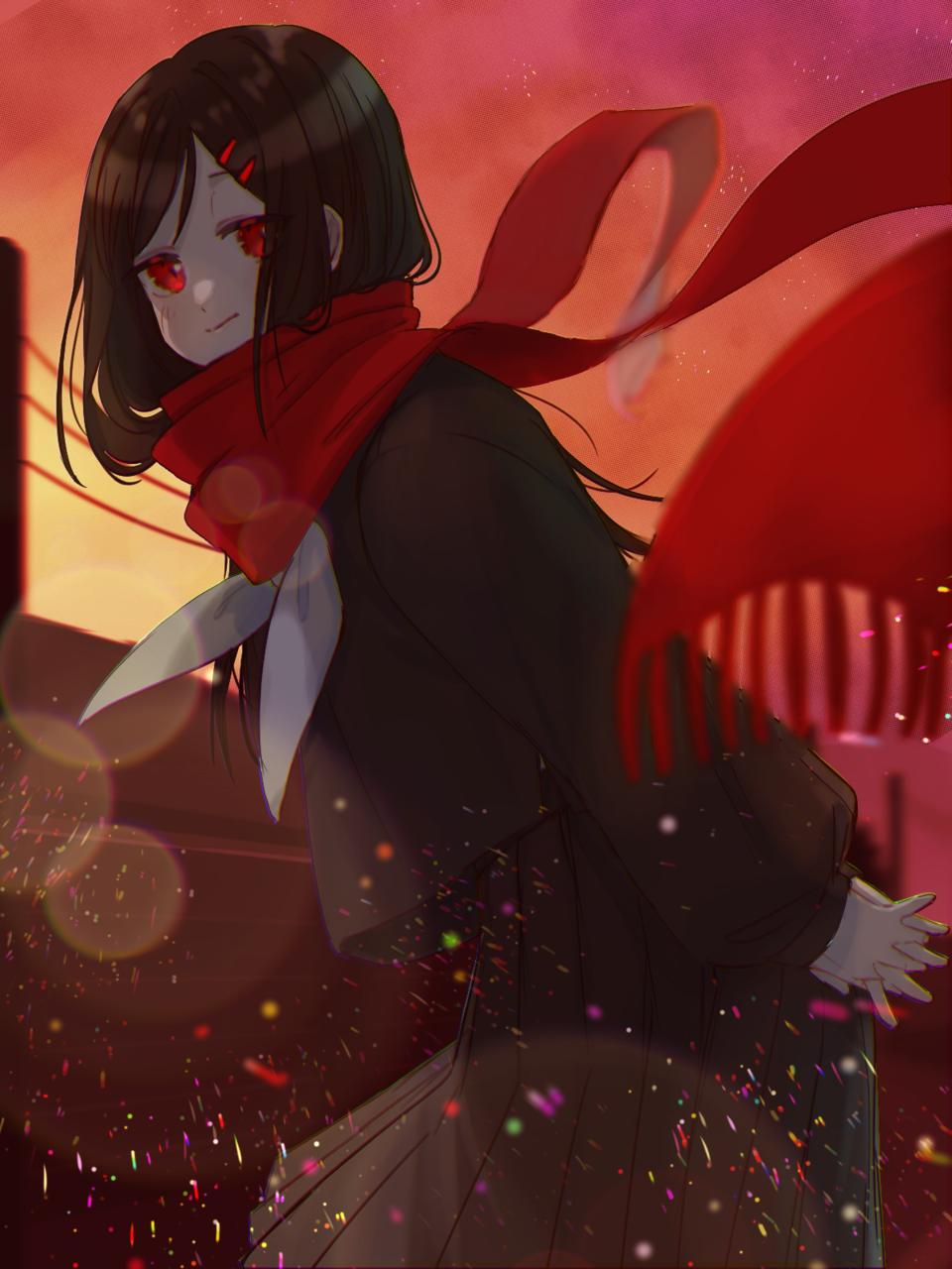 「『サヨウナラ』しようか」 Illust of ト・リ・コ・ス・ケ おんなのこ girl kagerou_project illustration アヤノ