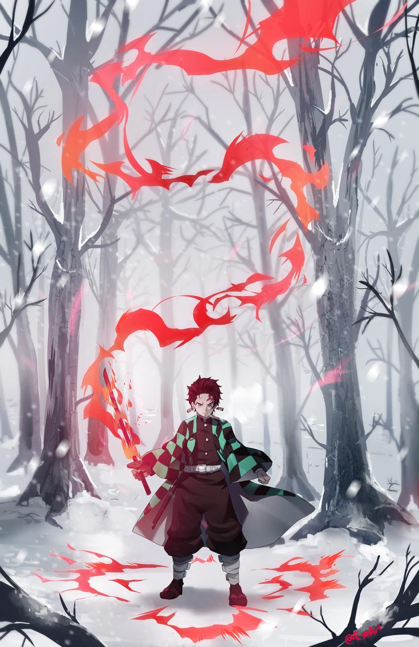 Tanjiro Illust of ryai DemonSlayerFanartContest KimetsunoYaiba KamadoTanjirou