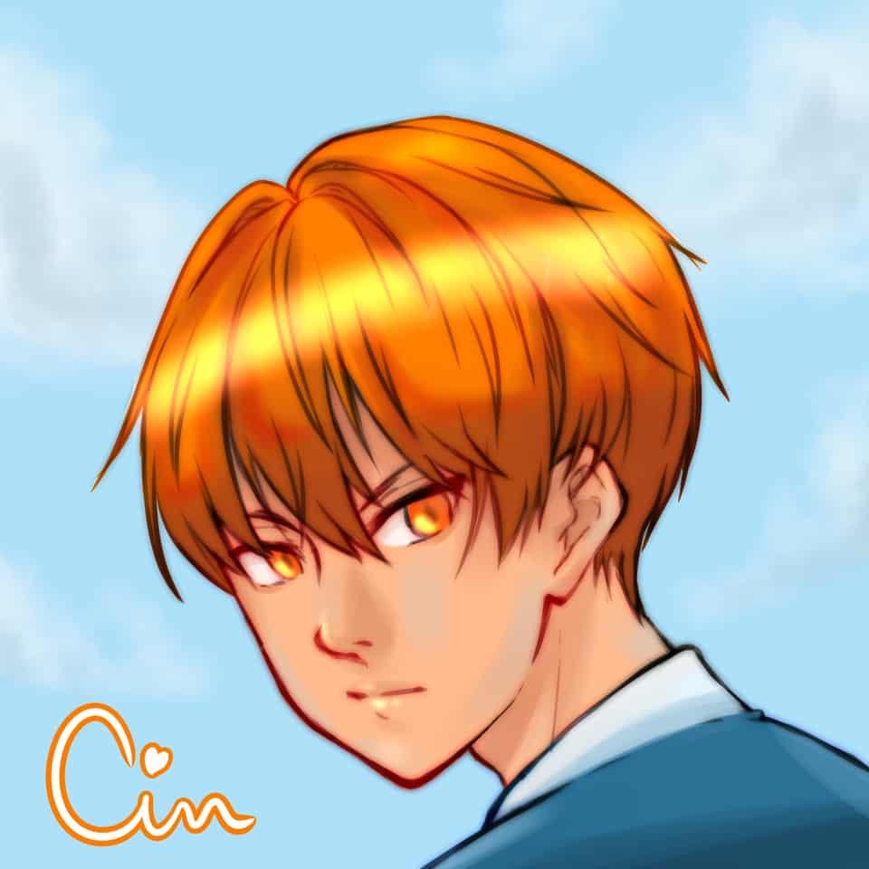 Soma Kyo Illust of super cinnamon anime sohma fanart fruitsbasket soma medibangpaint sketch kyosohma animefanart orange