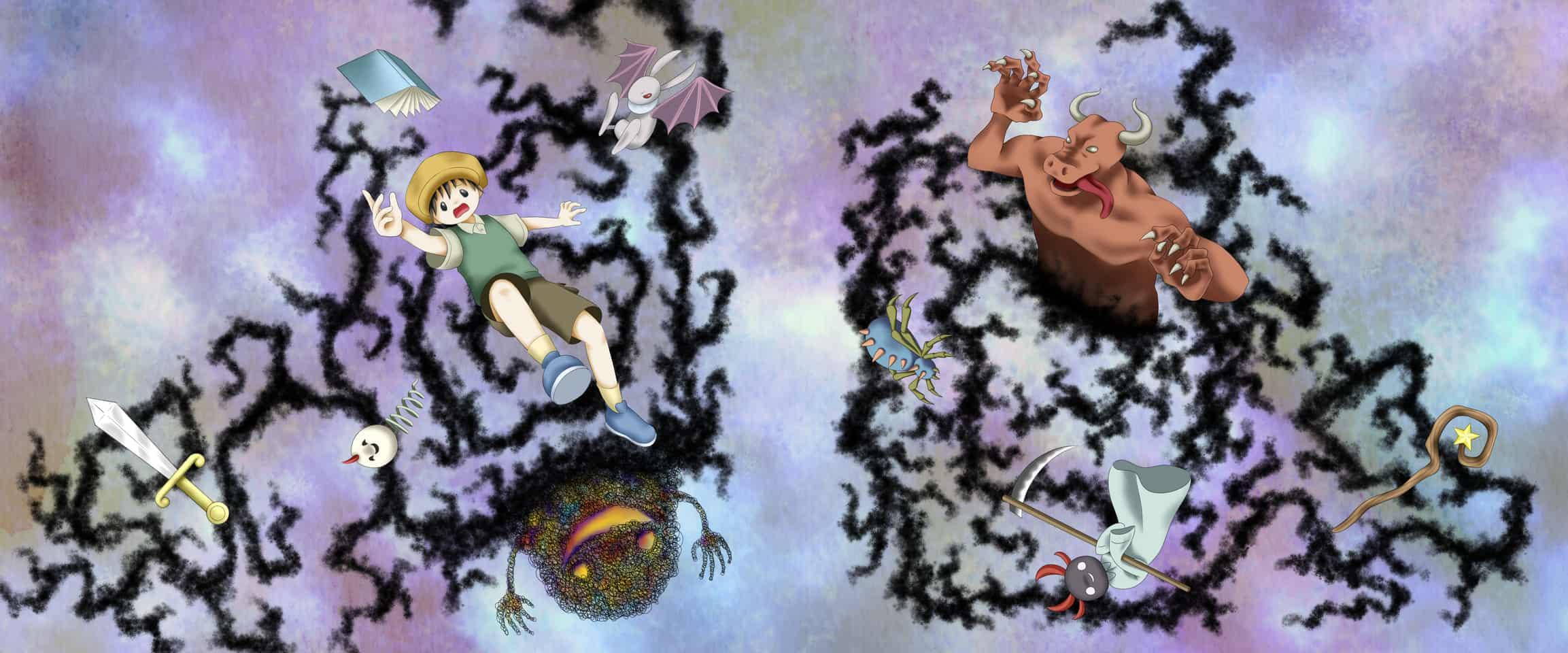 ぐるりと Illust of サクラリク Spinning_contest CLIPSTUDIOPAINT original