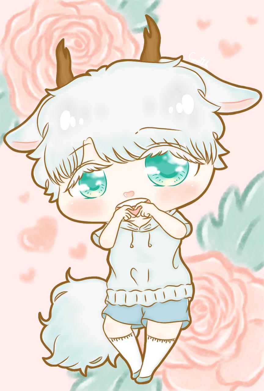 Silver Boy 12 Illust of 亞 art kawaii illustration boy cute anime doodle oc manga chibi