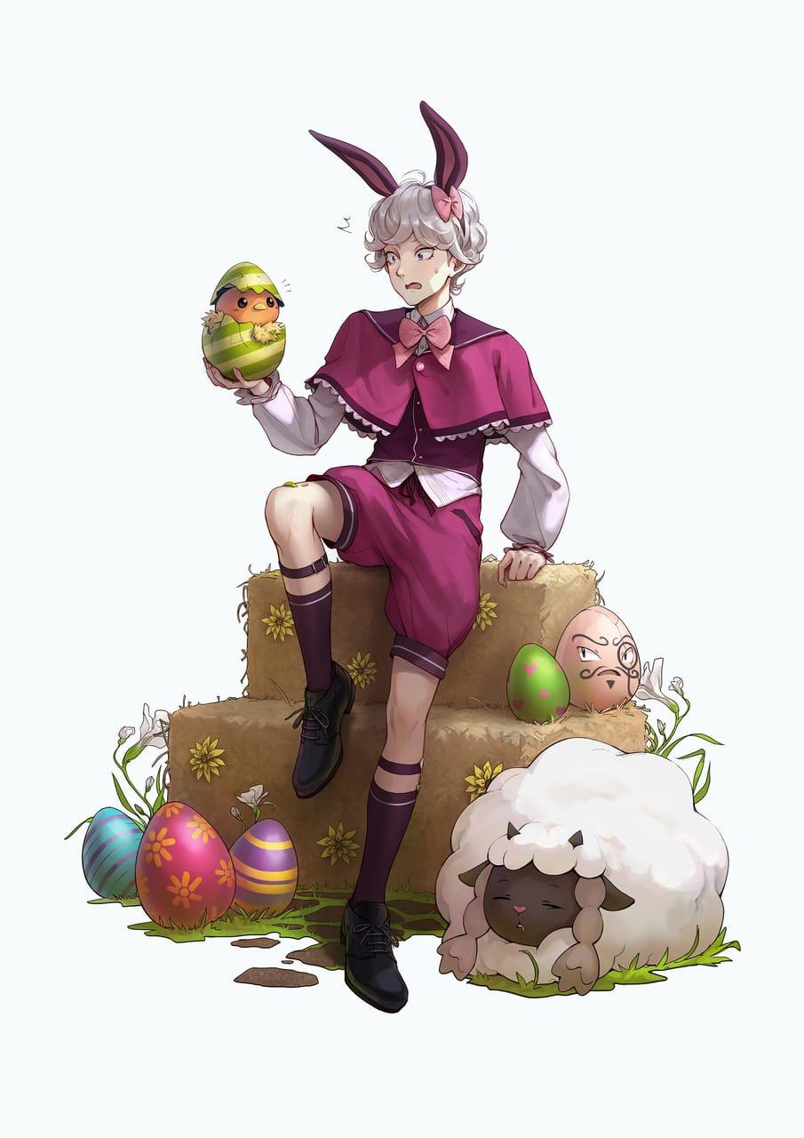Happy Easter Illust of Towa pokemon イースター