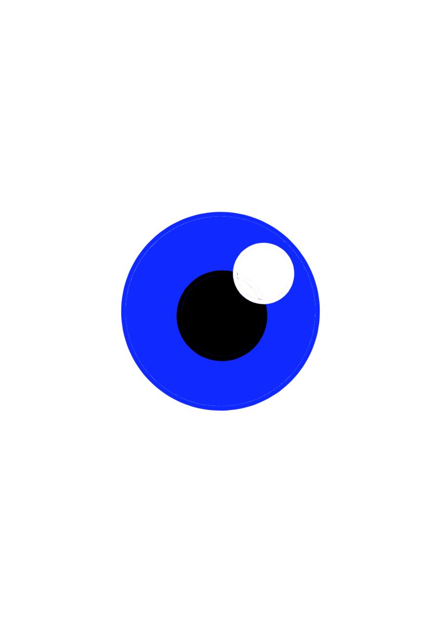 blue eye - Undertale Sans girl | Tranh họa - ART street by