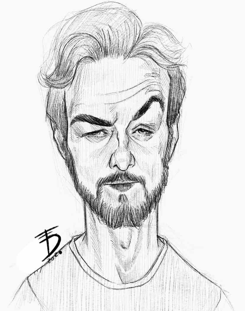 Portrait  Illust of Derwelt art iPad_raffle drawing Medibang medibang medibangpaint sketch Artwork artist commission