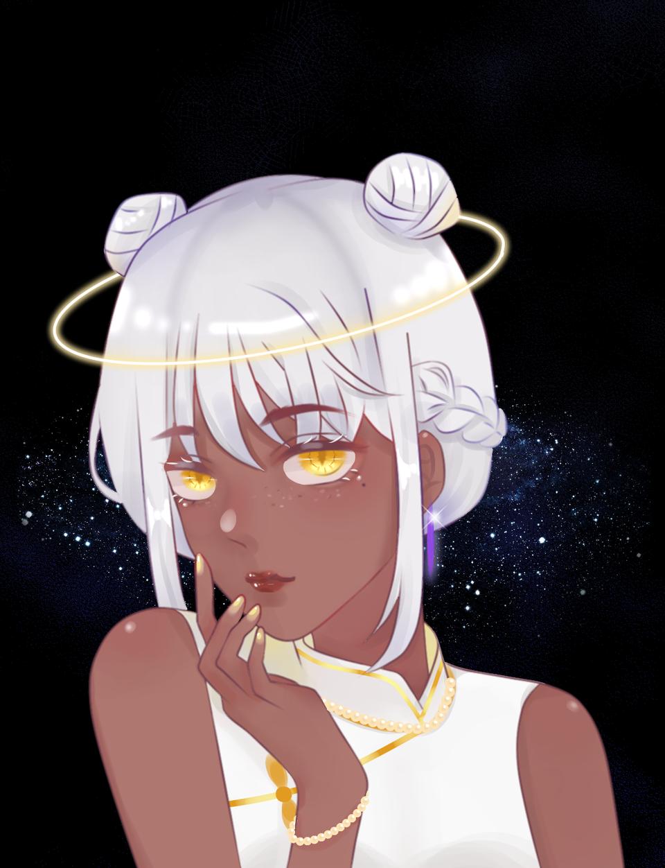 五彩斑斓的黑 Illust of 小北 April.2020Contest:Color 黑皮 anime 姐姐