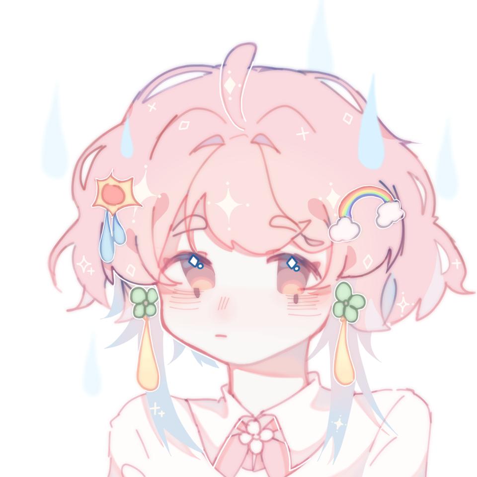 「太阳下的雨天娃娃 彩虹出来了」 Illust of 桜庭花莓. medibangpaint