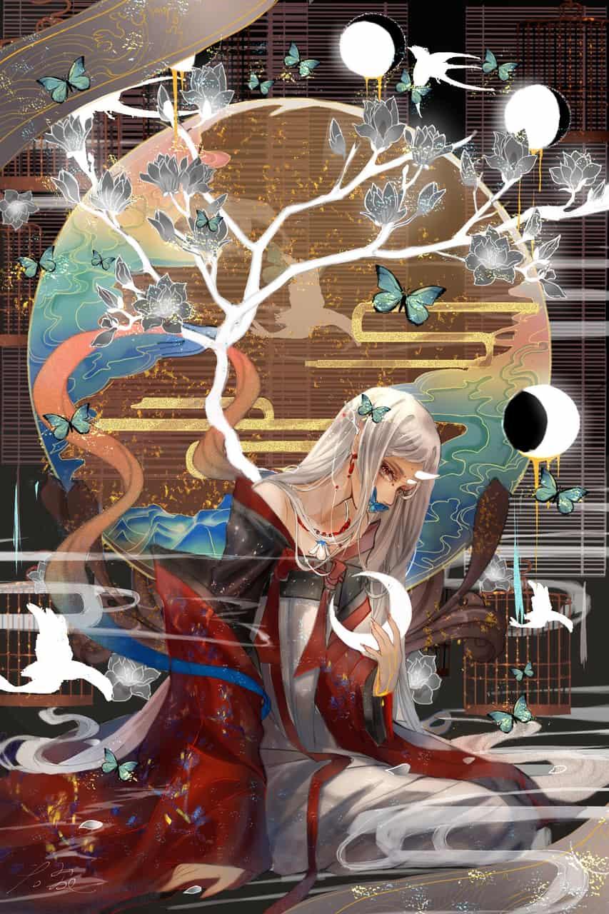 乱七八糟的东西 Illust of 那我男神就张培基吧 original girl 中国风 illustration