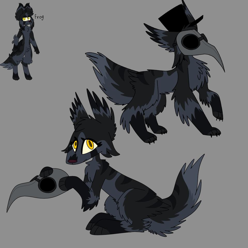 Raven redraw Illust of ❄Ash❄ medibangpaint
