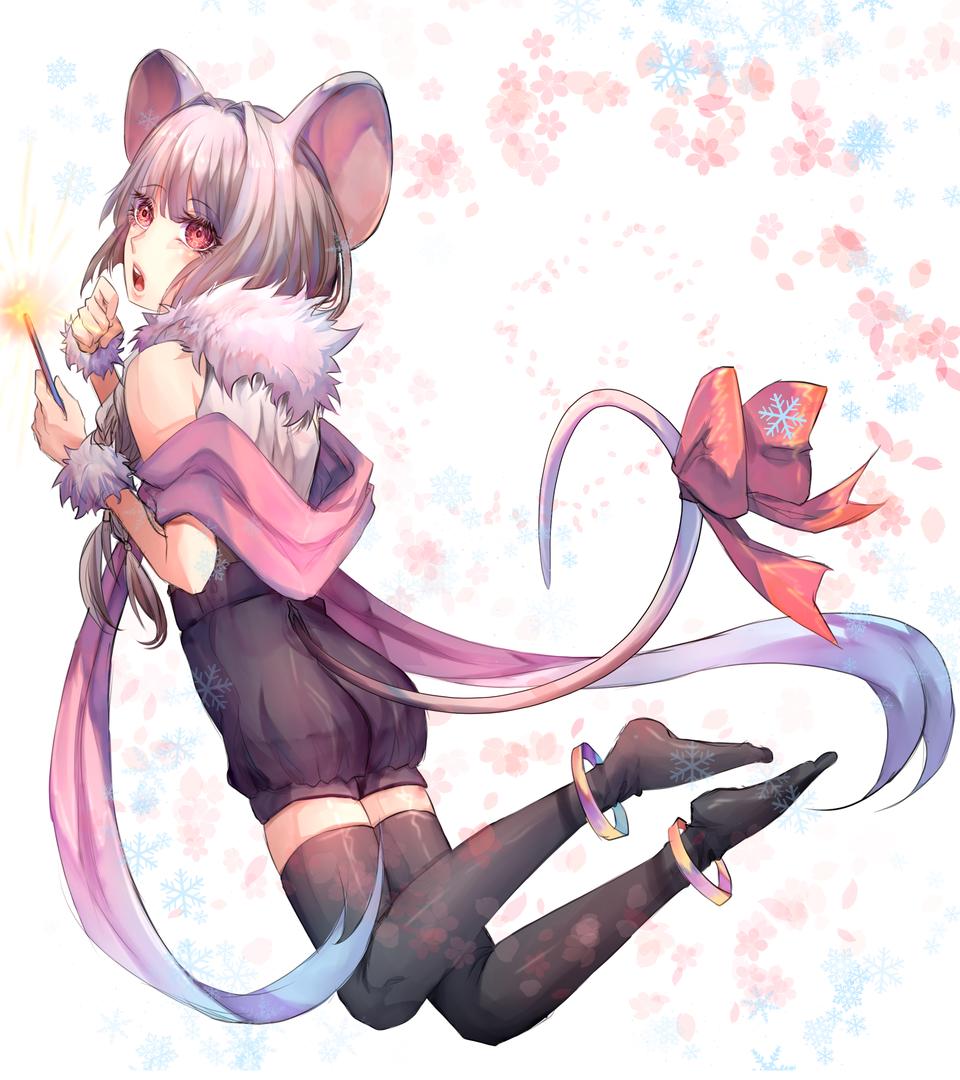 Sparkle Mouse Illust of Merakichii September2020_Contest:Furry medibangpaint anime girl boy manga illustration