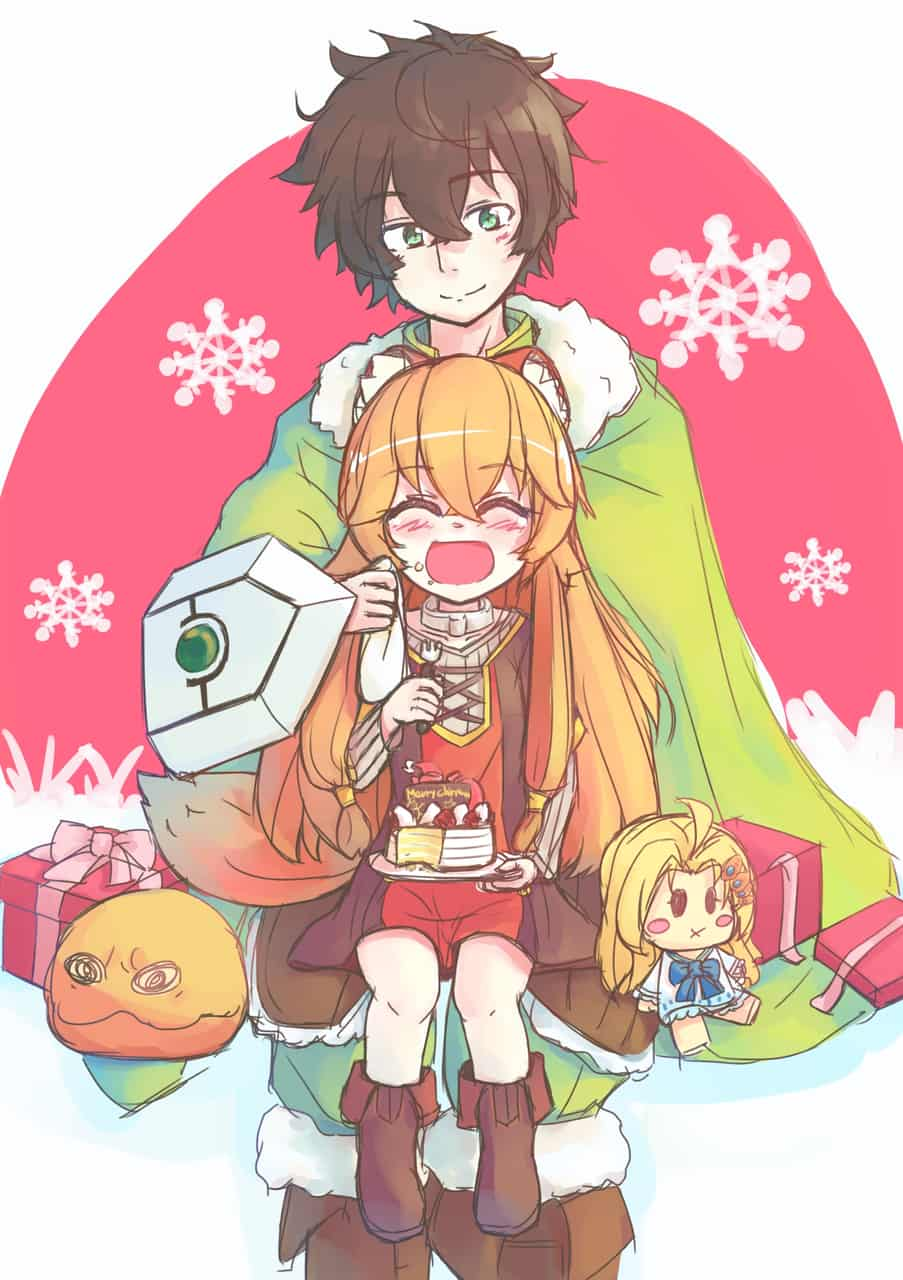 (Christmas) Raptalia & Naofumi Illust of SAYAAI Christmas Naofumi Raptalia shield TheRisingoftheShieldHero hero ラフタリア