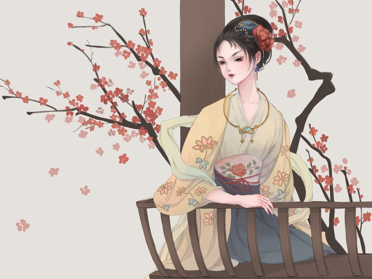苏小小 Illust of 家族 medibangpaint 古风 illustration