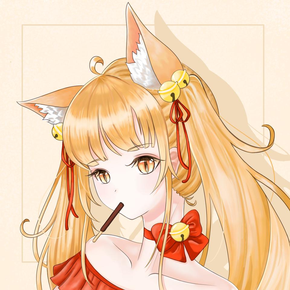 双马尾猫娘? Illust of 血色 彼岸 medibangpaint
