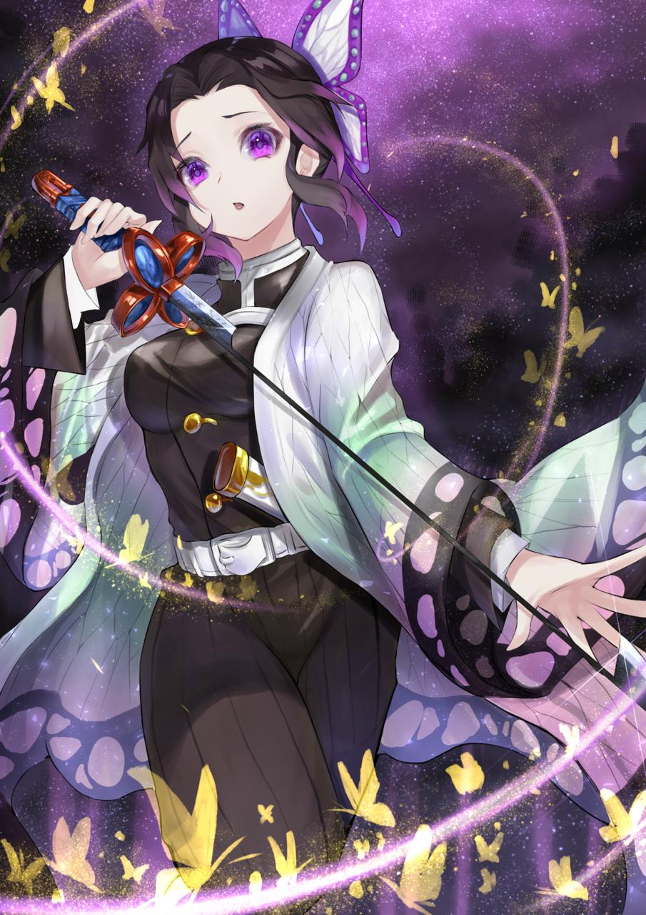 しのぶさん Illust of ryo DemonSlayerFanartContest KimetsunoYaiba KochouShinobu