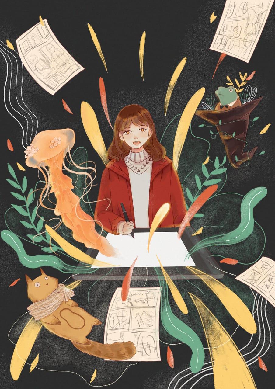 [ HUION KAMVAS Pro 13 ] 很想要一塊手繪屏🎄🎁 Illust of Hakurokuuu giftyouwant2020:30000YenGift giftyouwant2020 art drawing Paintings Artwork illustration illustrations