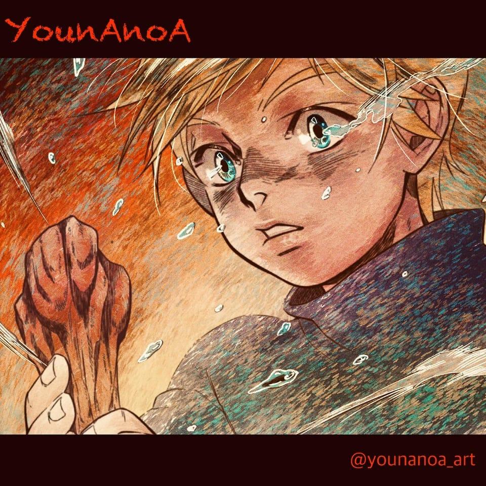 무엇이 무엇이 좋을까요? Illust of Younanoa fantasy boy oc illustration