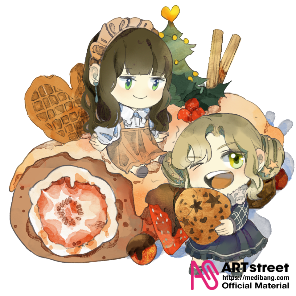 Afternoon tea Illust of 元丛丛 tracedrawing Trace&Draw【Official】 甜点 Dessert