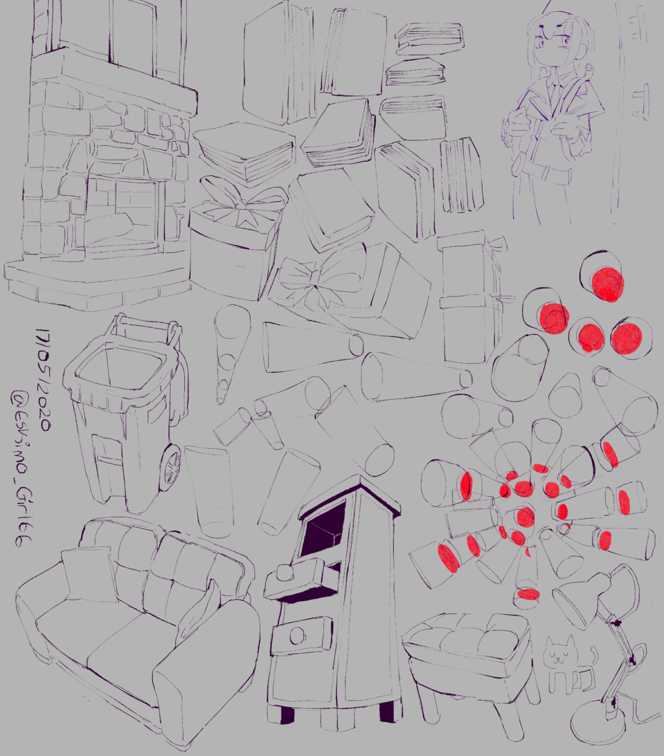 Day 869 Log 977  Illust of Eski ARTstreet_Ranking sketch IceLogs