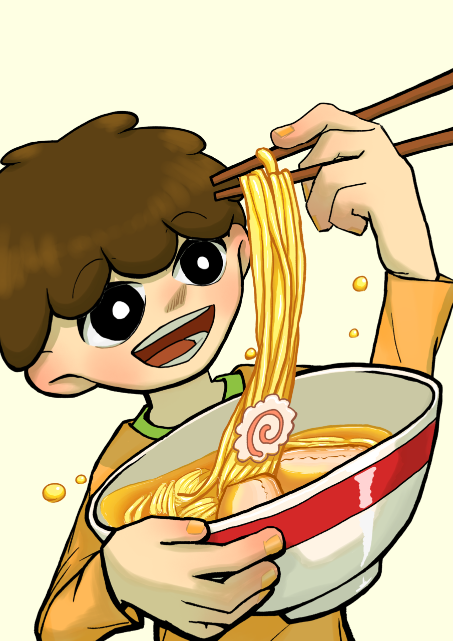 らーめん Illust of ブキ+ 子供 Ramen