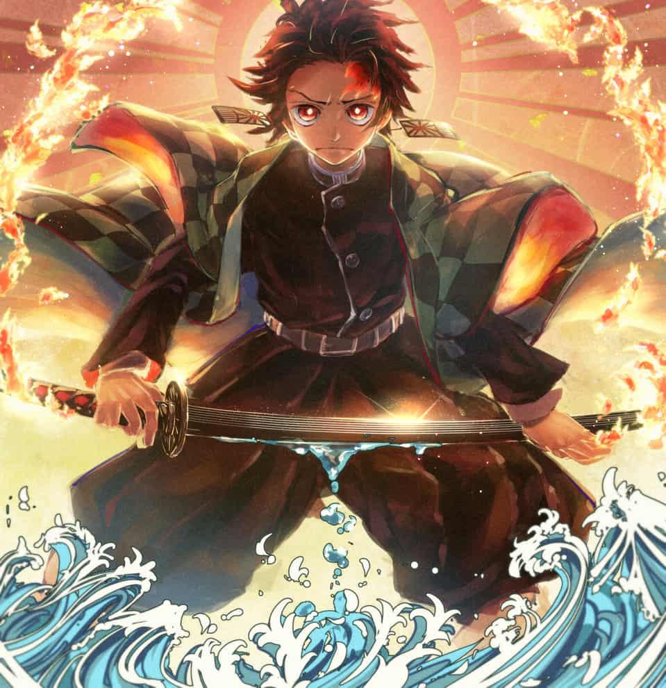 陽と水 Illust of cluseller DemonSlayerFanartContest KimetsunoYaiba KamadoTanjirou