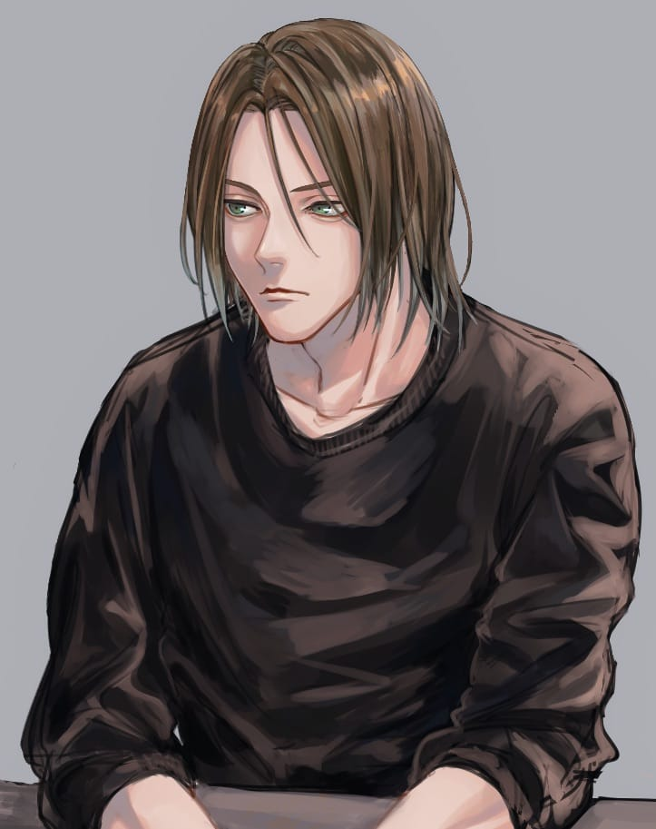店長のOFF Illust of 空太 創作男子 oc longhair