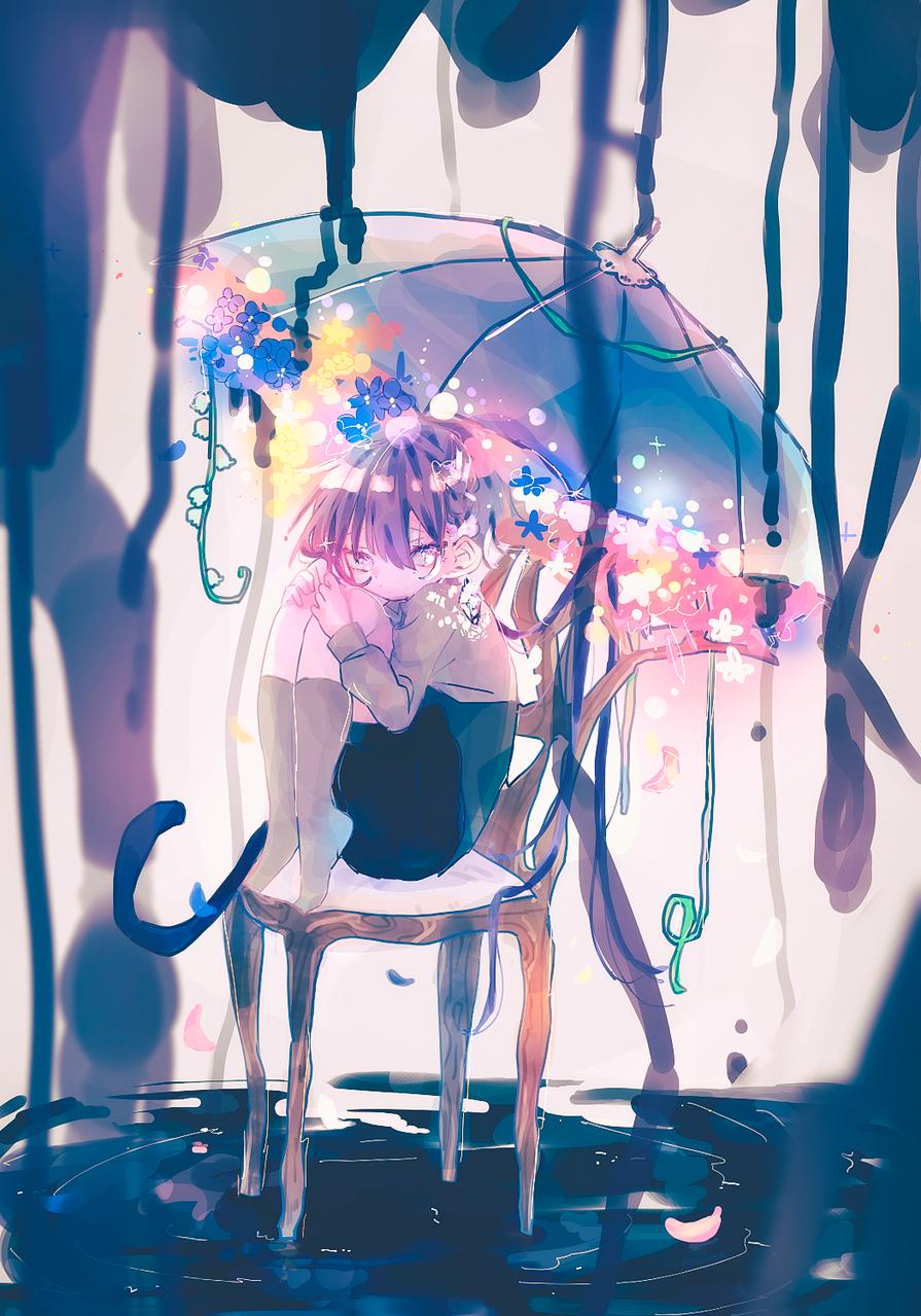 安全地帯 Illust of 桃お茶 oc original オリキャライラスト medibangpaint