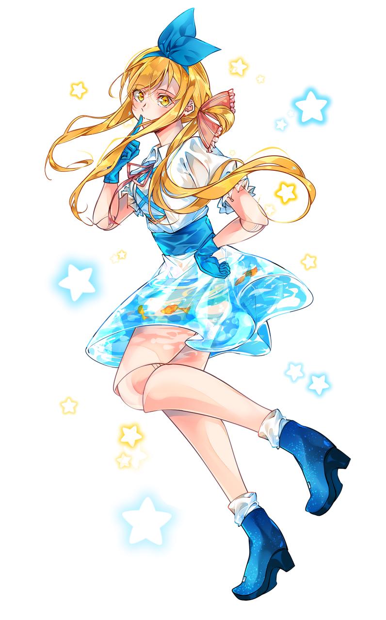 無題 Illust of かみな April.2020Contest:Color medibangpaint girl water original