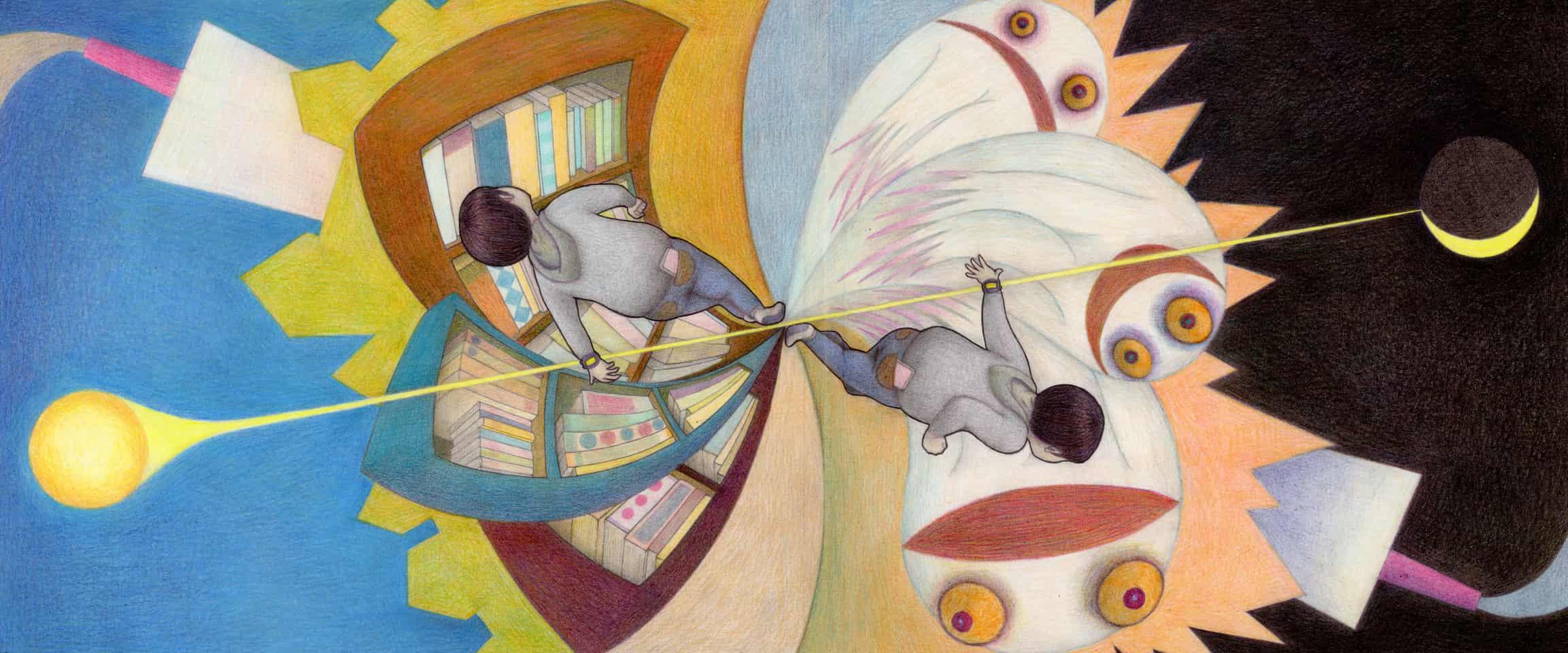 『ぐるりと』カバーイラスト Illust of よこぜきしげる Spinning_contest