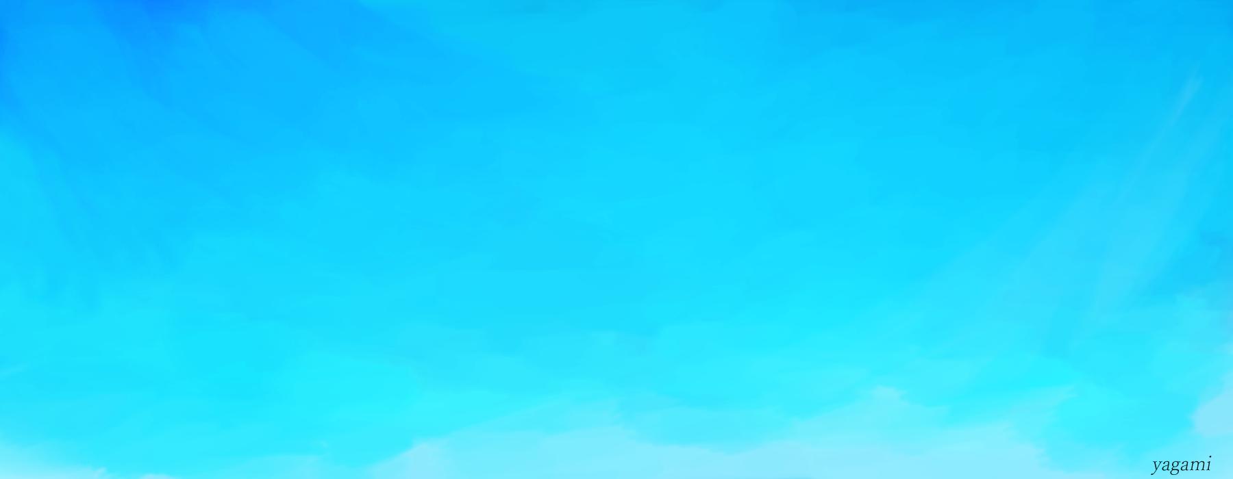 雲と海賊船 Illust of 八神 奏 Post_Multiple_Images_Contest original blue star background sky clouds