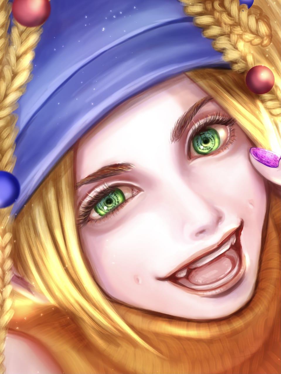 アルベド人は目がぐるぐる Illust of FJ game girl FFX realistic medibangpaint impasto Rikku FF10 kawaii