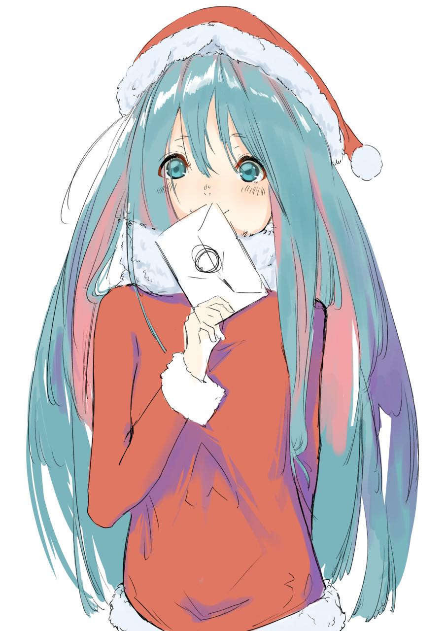 クリスマスカード Illust of 馬(UMA) Christmas original copado girl Illustrations oc おんなのこ illustration muy イラストレーション