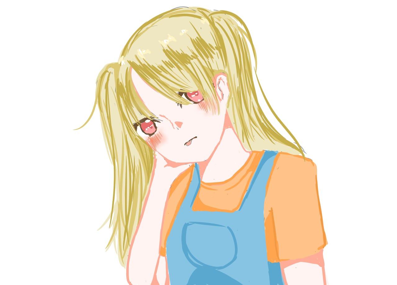 隨手畫~~ Illust of Sakura woman girl 女 original 原創角色
